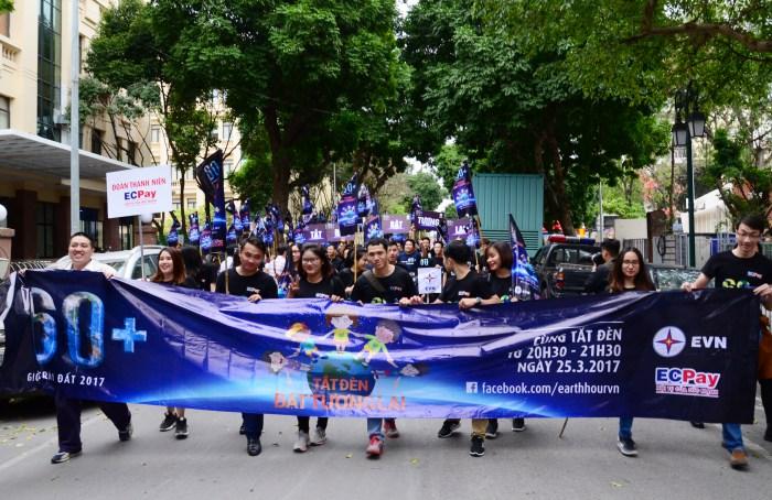Tuổi trẻ EVN hưởng ứng Chiến dịch Giờ Trái đất 2017