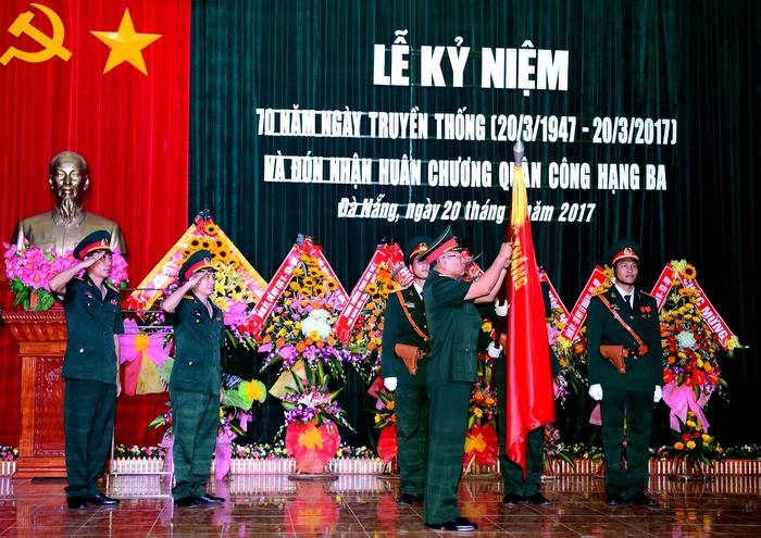 Lữ đoàn 74 đón nhận Huân chương Quân công hạng Ba