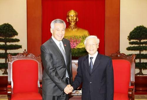 Xinh-ga-po coi trọng thúc đẩy quan hệ Đối tác chiến lược với Việt Nam