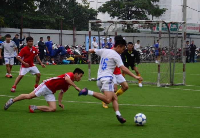 Giải bóng đá chào mừng Ngày thành lập Đảng bộ Khối Doanh nghiệp Trung ương