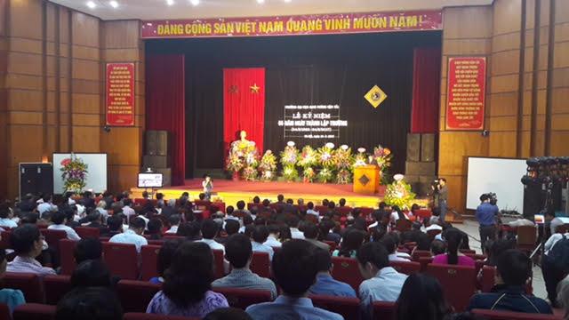 Trường Đại học Giao thông Vận tải kỷ niệm 55 năm ngày thành lập
