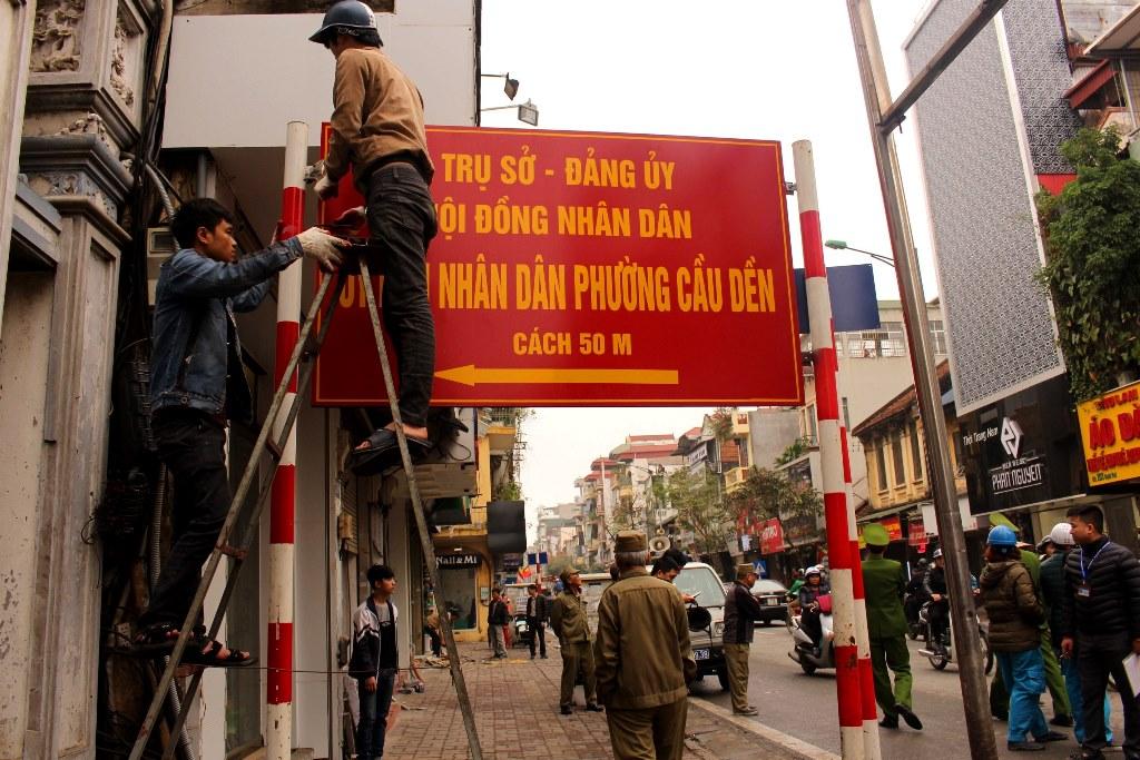 Hà Nội: Đồng loạt ra quân lập lại trật tự đô thị