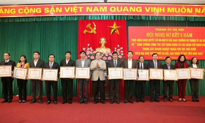 Hà Nội: Nâng cao chất lượng của các tổ chức đảng, đoàn thể trong các doanh nghiệp ngoài khu vực Nhà nước