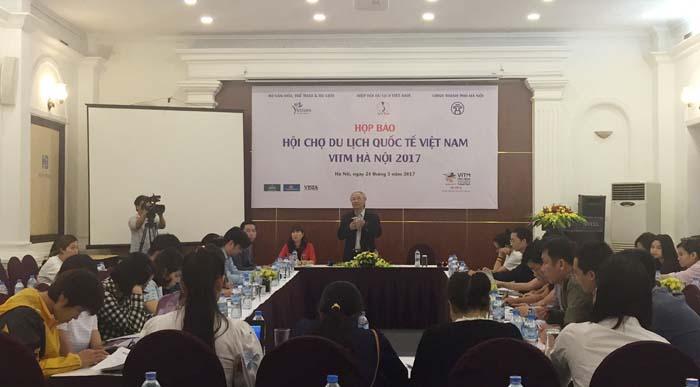 Hội chợ du lịch quốc tế Việt Nam 2017 diễn ra từ ngày 6 - 9/4