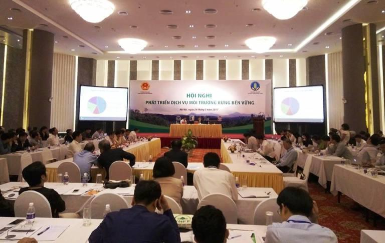 Phát triển dịch vụ môi trường rừng bền vững