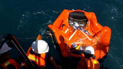 Đã xác định được vị tàu Hải Thành 26-BLC bị chìm
