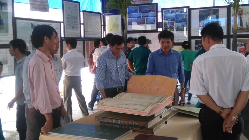 Trưng bày tư liệu về Hoàng Sa, Trường Sa của Việt Nam tại Bạc Liêu