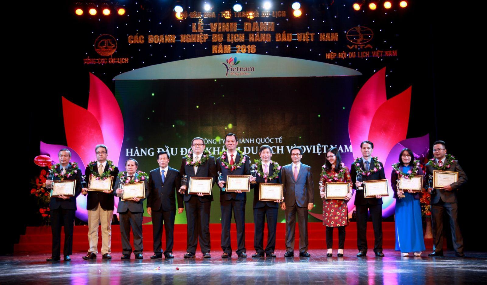 Giải thưởng Du lịch Việt Nam 2017 gồm 9 hạng mục