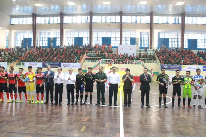 Khởi tranh vòng loại giải vô địch Futsal quốc gia 2017