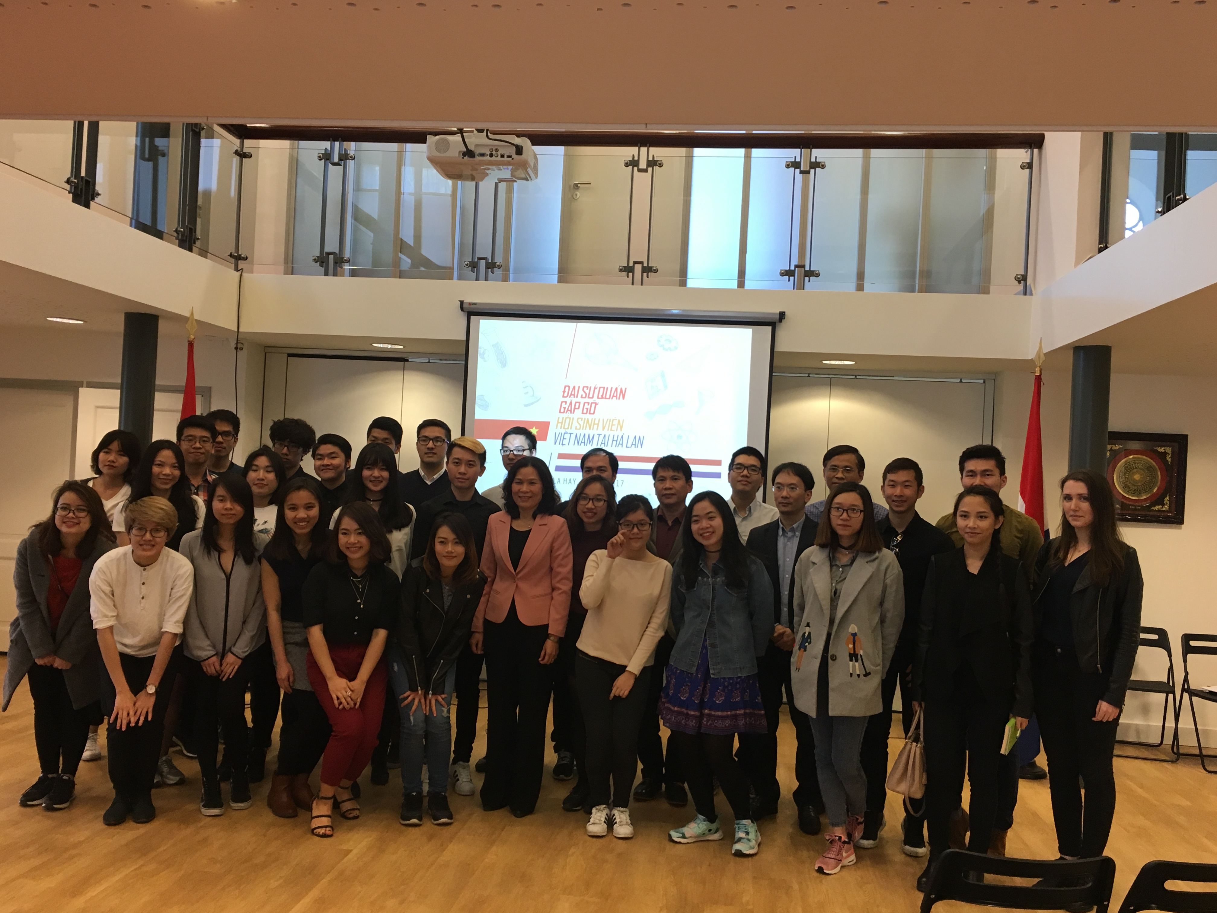 Gặp gỡ sinh viên Việt Nam đang sinh sống học tập tại Hà Lan