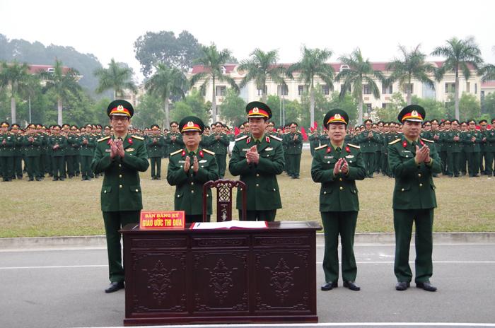 Quân khu 3 tổ chức Lễ ra quân huấn luyện năm 2017