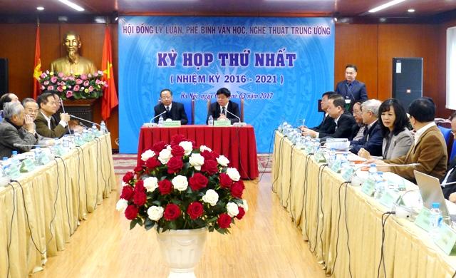 Kỳ họp thứ nhất Hội đồng Lý luận, phê bình văn học, nghệ thuật Trung ương