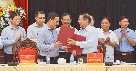 Tập đoàn Điện lực Việt Nam làm việc với UBND tỉnh Kon Tum
