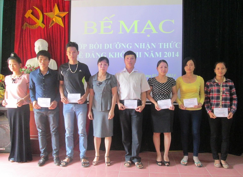 Đảng bộ huyện Mai Châu (Hoà Bình) làm tốt công tác phát triển đảng viên