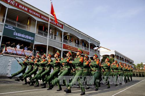 Bộ Tư lệnh Thành phố Hồ Chí Minh ra quân huấn luyện năm 2017