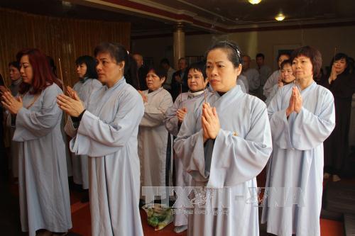 Đại lễ cầu siêu các anh hùng liệt sĩ của cộng đồng người Việt tại chùa Từ Ân ở Berlin