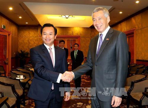 Thủ tướng Singapore Lý Hiển Long khẳng định sẽ tham gia Tuần lễ cấp cao APEC 2017 tại Đà Nẵng