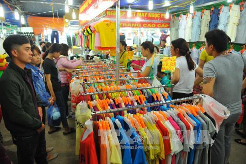 Khai mạc Hội chợ thương mại khu vực Đồng bằng sông Hồng - Ninh Bình 2017