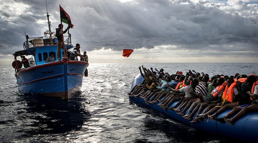 Hơn 80% người di cư trên biển đến Italy