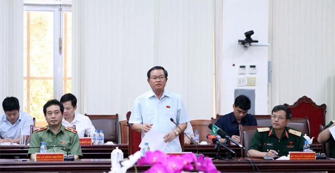 Phó Chủ tịch Quốc hội Đỗ Bá Tỵ làm việc tại tỉnh Kiên Giang