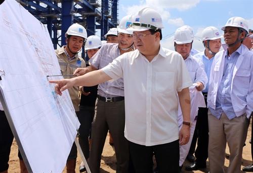 Đẩy nhanh tiến độ thực hiện Dự án Nhà máy Nhiệt điện Long Phú 1