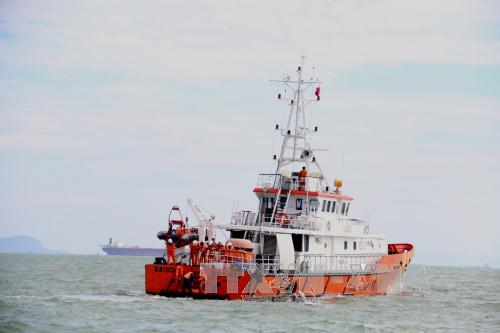 Huy động mọi lực lượng khẩn cấp tìm kiếm thuyền viên tàu Hải Thành 26