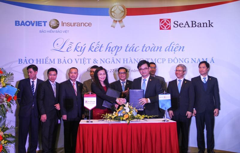 Bảo hiểm Bảo Việt ký Thỏa thuận hợp tác với SeABank