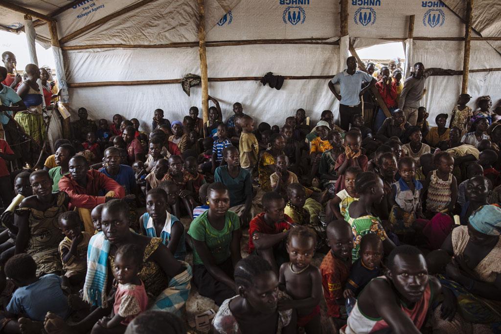 Quá tải người tị nạn Nam Sudan ở Uganda