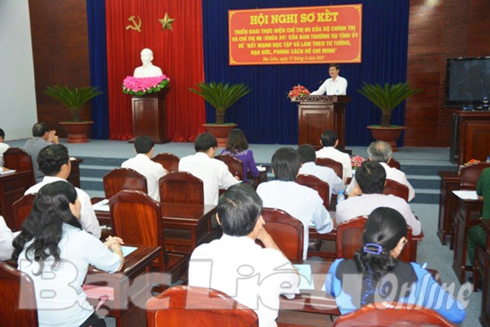 Thực hiện Chỉ thị 05 của Bộ Chính trị: Hướng đến việc nêu gương của người đứng đầu cấp ủy