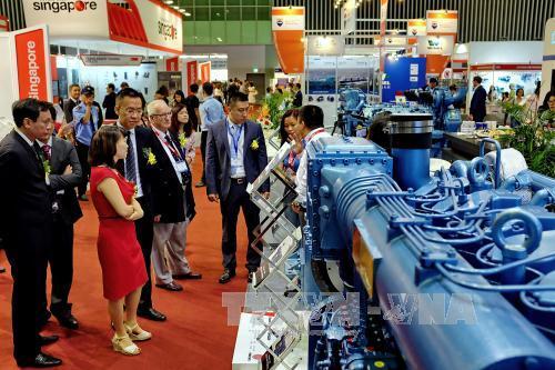Khai mạc Triển lãm quốc tế Hàng hải Việt Nam lần thứ 6