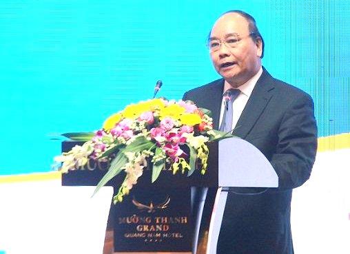 Thủ tướng Nguyễn Xuân Phúc dự Hội nghị xúc tiến đầu tư tỉnh Quảng Nam