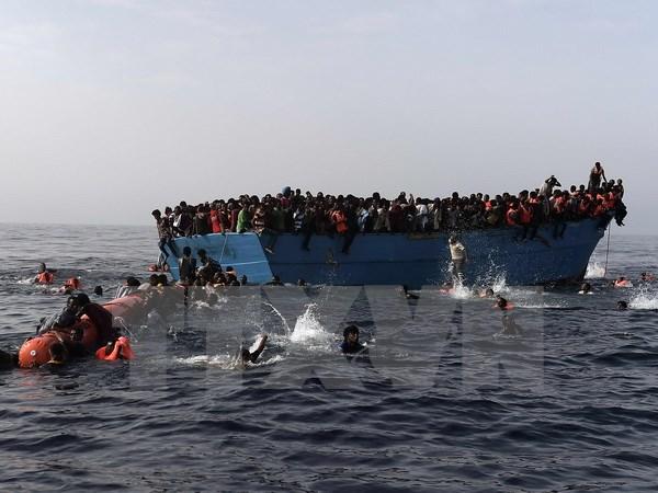 Vấn đề người di cư: Gần 1.000 người được cứu ngoài khơi Libya