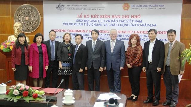 Australia hỗ trợ Việt Nam bảo đảm chất lượng giáo dục trực tuyến