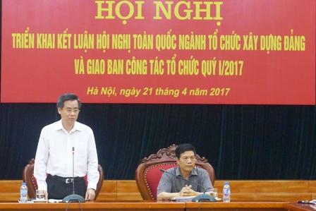 Đảng ủy Khối các cơ quan TƯ: Triển khai Kết luận Hội nghị toàn quốc ngành Tổ chức xây dựng Đảng