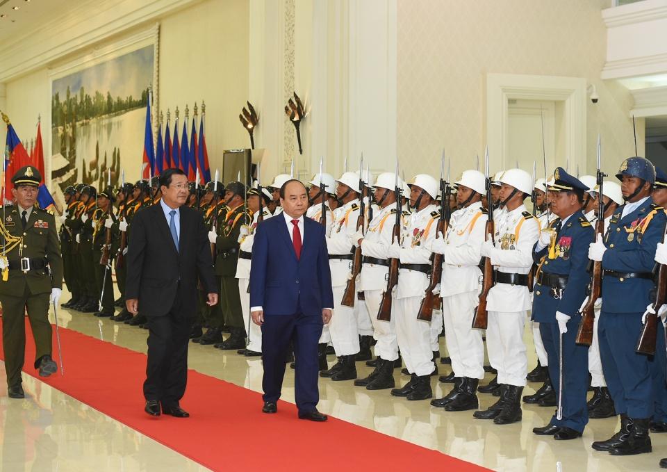 Thủ tướng Nguyễn Xuân Phúc kết thúc tốt đẹp chuyến thăm chính thức Vương quốc Campuchia