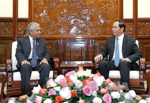 Chủ tịch nước Trần Đại Quang: Việt Nam luôn chủ động, tích cực tham gia vào các nỗ lực chung của Liên hợp quốc