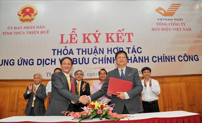 Thừa Thiên Huế cung ứng dịch vụ hành chính công qua bưu điện