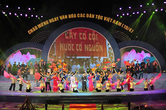 Khai mạc Ngày Văn hóa các dân tộc Việt Nam năm 2017