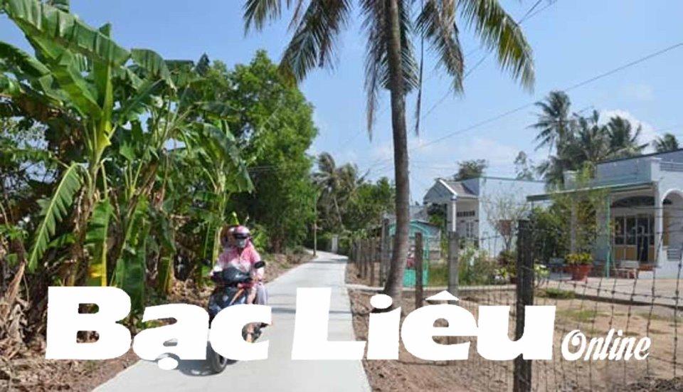 Điểm sáng từ phong trào xây dựng nông thôn mới ở huyện Vĩnh Lợi