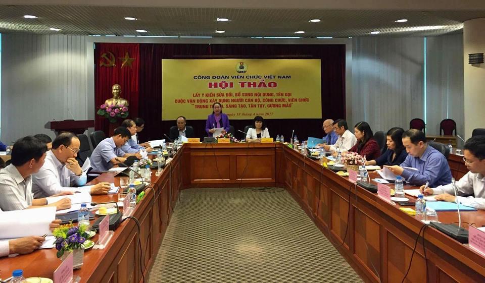 Gắn Cuộc vận động xây dựng người CBCCVC trong giai đoạn mới với việc làm theo tấm gương đạo đức Hồ Chí Minh
