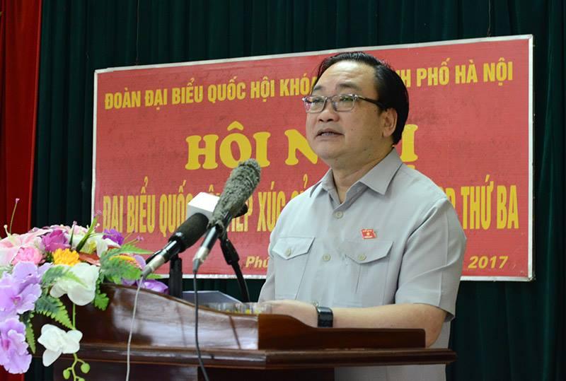 Bí thư Thành ủy Hà Nội: Giải quyết sớm nguyện vọng của cử tri sẽ tránh được những bức xúc