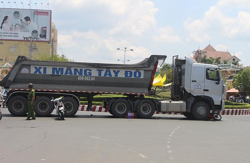 Cần Thơ tháo dỡ vòng xoay gây ùn tắc giao thông ở cửa ngõ thành phố