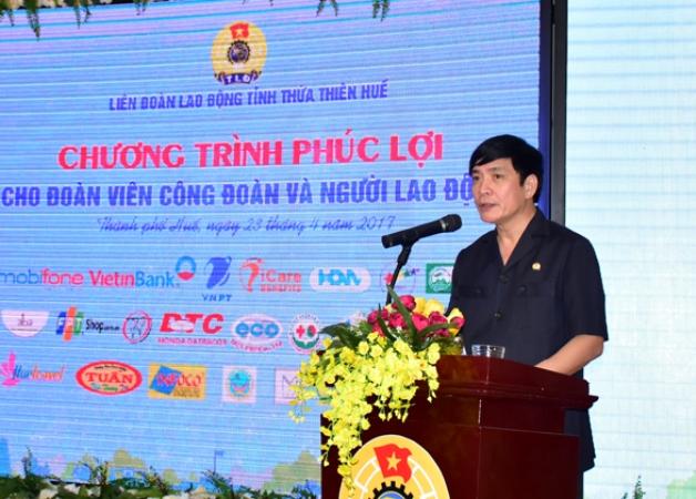 Thừa Thiên Huế: Đưa phúc lợi đến đoàn viên Công đoàn và người lao động