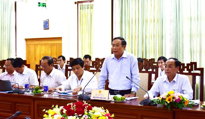 Đoàn giám sát của Ủy ban Thường vụ Quốc hội làm việc tại tỉnh Thừa Thiên Huế