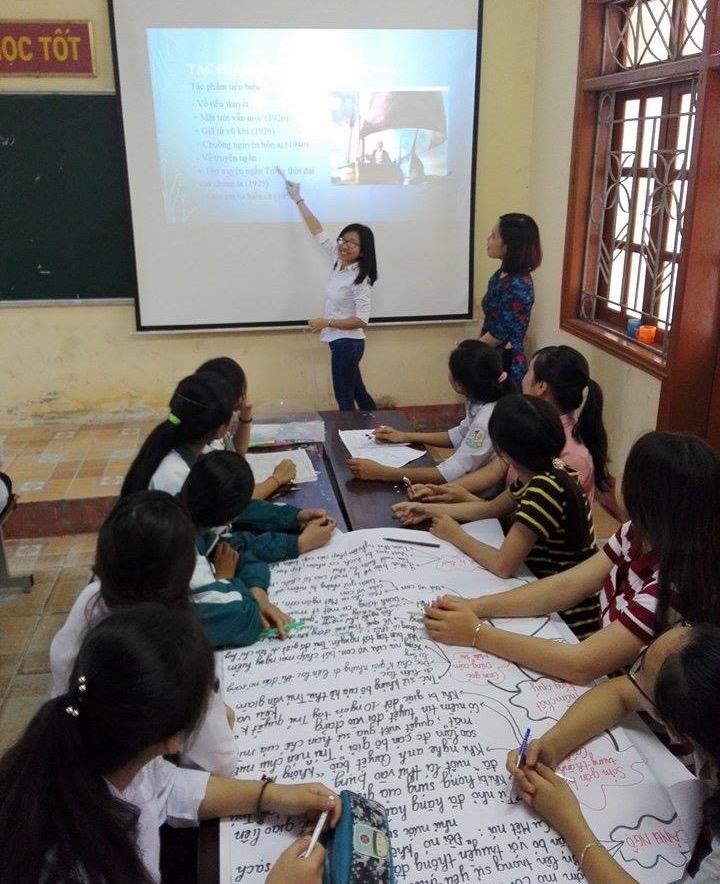 Sáng tạo trong dạy học Ngữ văn