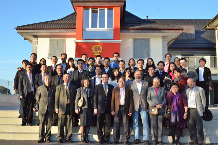 """Tọa đàm """"Trí thức trẻ người Việt tại Thụy Sĩ với đất nước"""""""