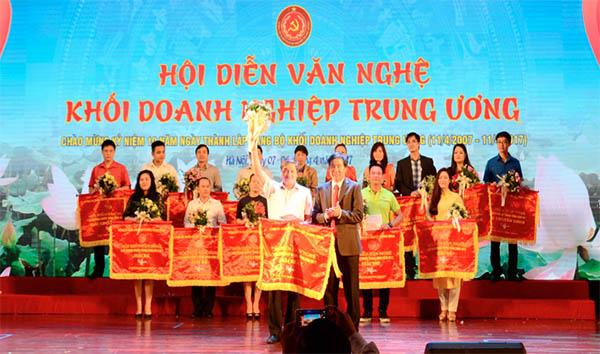Hội diễn văn nghệ chào mừng Ngày thành lập Đảng bộ Khối Doanh nghiệp Trung ương