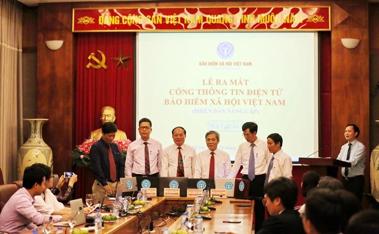 Ra mắt Cổng thông tin điện tử Bảo hiểm xã hội Việt Nam phiên bản nâng cấp