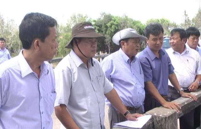 Sóc Trăng và Bạc Liêu phối hợp điều tiết nước mặn giữa hai vùng lúa - tôm