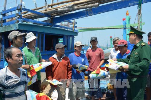 Bình Định thực hiện hiệu quả quy chế phối hợp trên tuyến biển